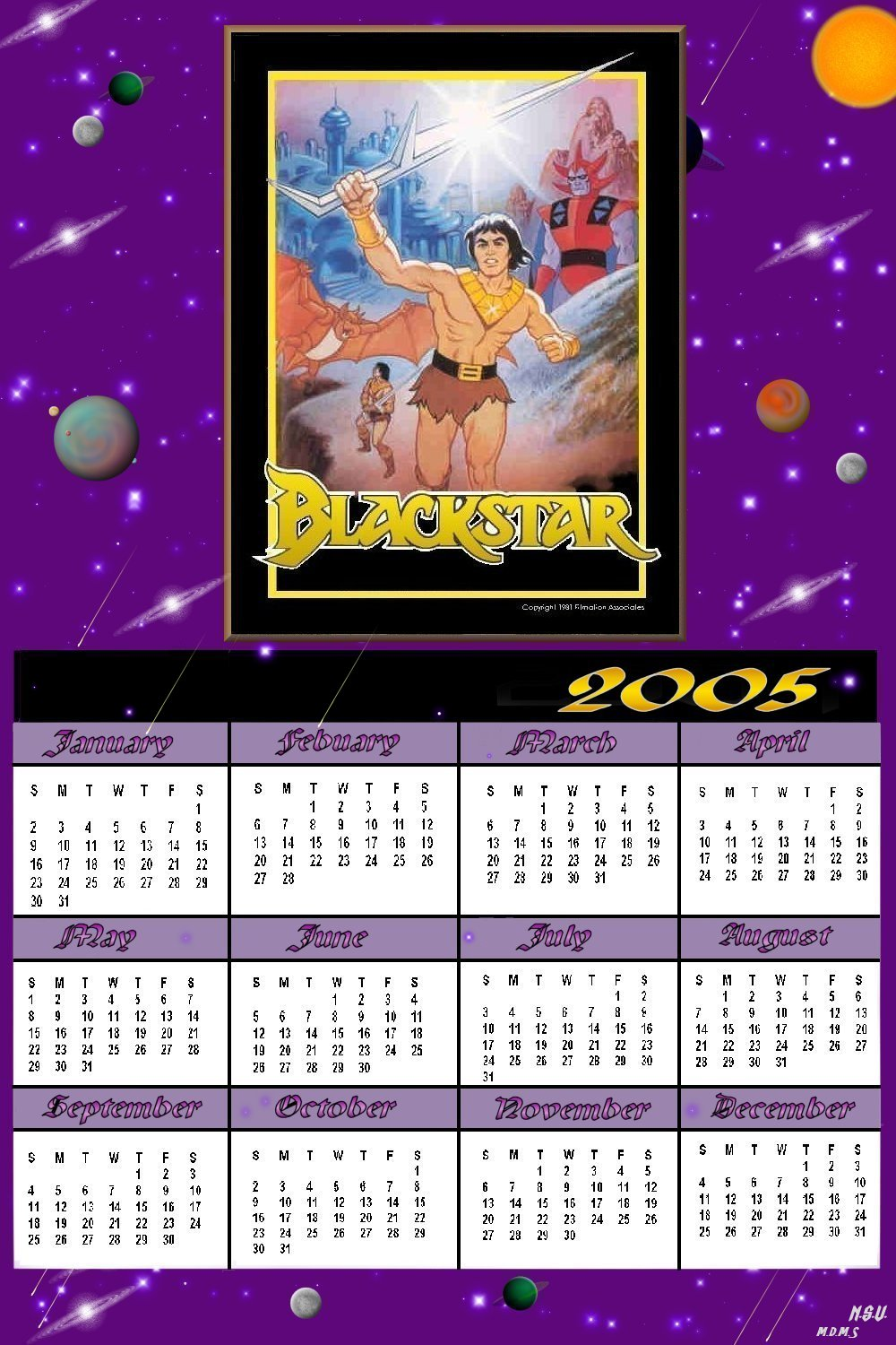 BlackstarCalender2005_SearchForTheStarsword.jpg